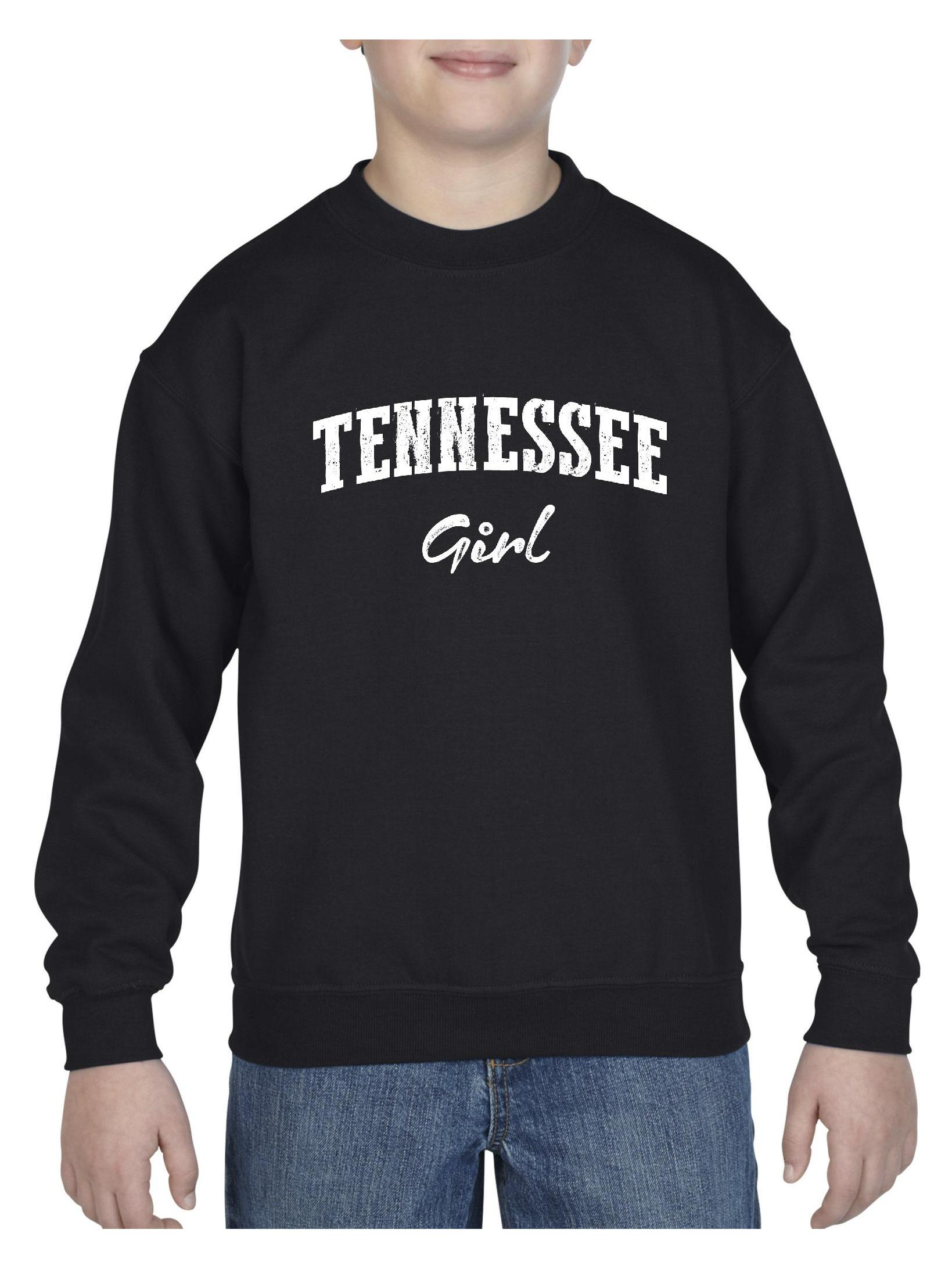 Tennessee Girl Unisex Youth Crewneck Sweatshirt