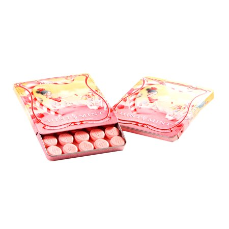 Hint Mint Classic Mints Nicoletta Ceccoli Artist Series All You Need Is Love Cinnamint Flavor 0.81 Oz. Curved Chic Tin With 35 (Holiday Mint Tins)