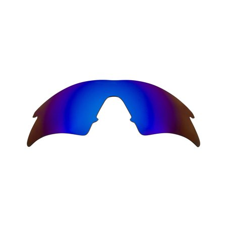 Replacement Lenses Compatible with OAKLEY M Frame Sweep Polarized Blue Mirror (Oakley Crosshair)
