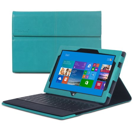 GreatShield VANTAGE Series Leather Case with Stand for Microsoft Surface Pro / Surface Pro 2 - Retail Packaging
