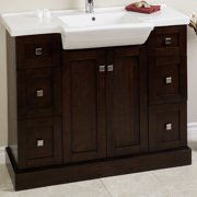 American Imaginations Modern Vanity Base Only