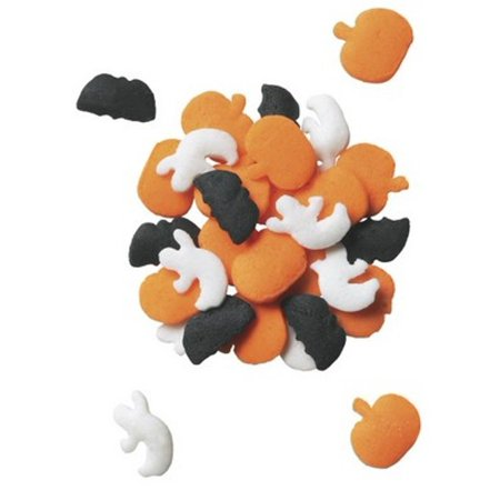 Spooky Halloween - Bats, Ghost, Pumpkin Edible Sprinkles - 2.8  oz for $<!---->