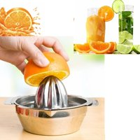 Stainless Steel Lemon Lime Squeezer Kitchen Manual Citrus Press Juicer Hand Press Squeezer Tool