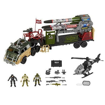 True Heroes Missile Launcher Playset