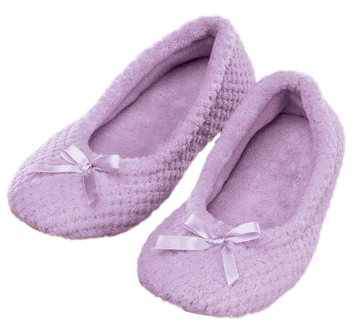 Chenille Ballet Slippers by Fox Valley Traders