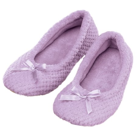 Chenille Ballet Slippers - Costume Ballet Slippers