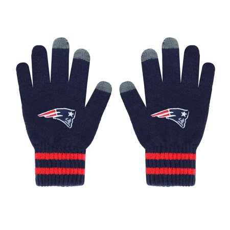 Fan Favorite - NFL Team Player Touch Gloves, New England Patriots Nfl Past Player