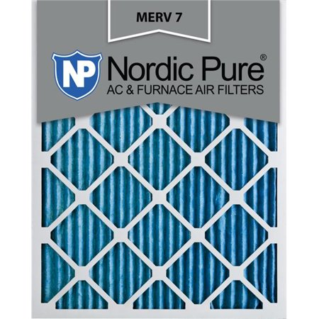 Nordic Pure 8x16x1CustomM7-6 MERV 7 AC Furnace Filters, 8 x 16 x 1 in. - Pack of 6 - image 1 of 1