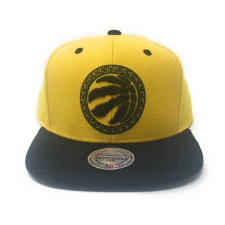 Mitchell and Ness Toronto Raptors Chinese New Year - Chinawear Two-Tone Black/Gold Snapback Hat - image 5 of 5