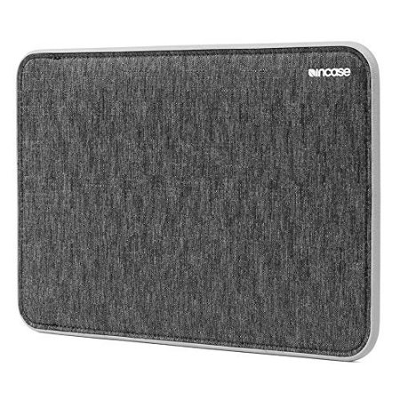 "Incase CL90061 12"" Sleeve case Black,Grey notebook case - Funda (12"", Sleeve case, Black, Grey, Neoprene, Monotone, Dust resistant, Shock resistant)"