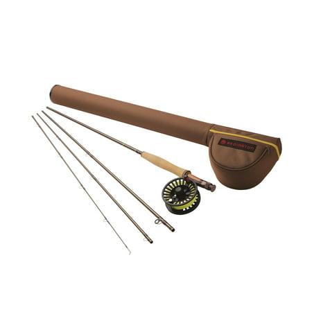 Custom Classic Combo (Redington 490 4 Weight Path II Outfit Combo Classic Angler Fly Fishing Rod )