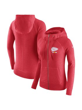 1ae5f50dd5c70 Product Image Kansas City Chiefs Nike Women s Gym Vintage Full-Zip Hoodie -  Red