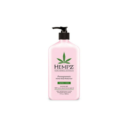 Hempz Pomegranate Herbal Moisturizer -17 oz. - Msm Herbal Moisturizer