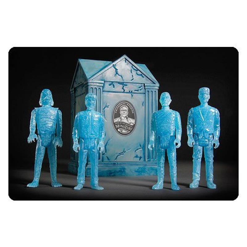 2015 SDCC Super7 Exclusive Universal Monsters Haunted Crypt Reaction Figure Set