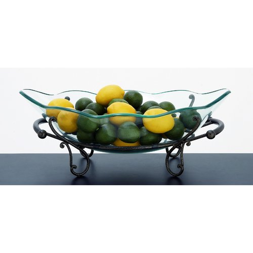 EC World Imports Casa Cortes Milan Decorative Bowl by Overstock