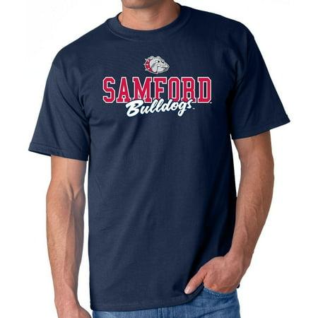 J2 Sport Samford Bulldogs NCAA Campus Script Unisex - Bulldogs Ncaa Hanging