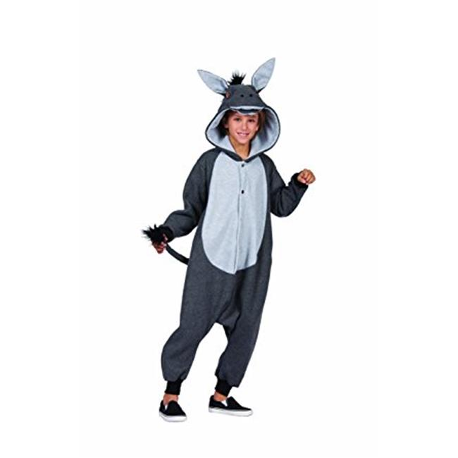 RG Costumes 40328 100 Acres Donkey Child Funsie Costume , Charcoal - Small - image 1 of 1