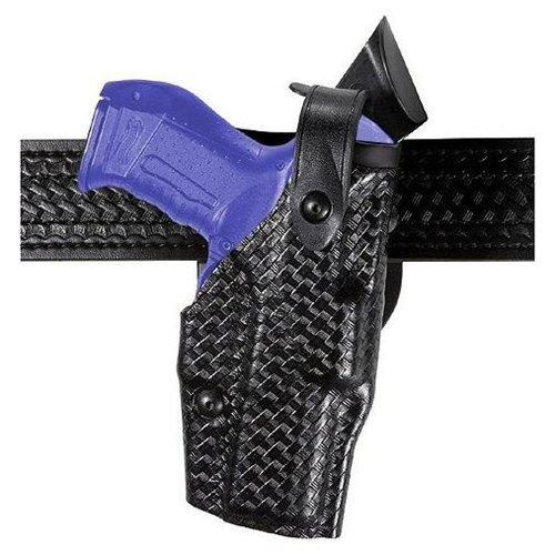 Safariland 6360-83-481 Black STX Basketweave RH Duty Holster For Glock 22C by SAFARILAND
