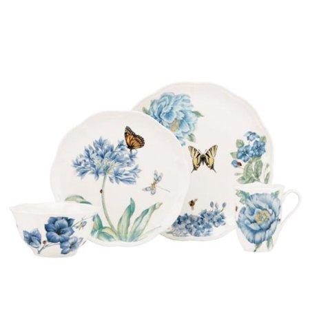 Lenox Butterfly Meadow 7 Piece - Lenox Butterfly Meadow Blue 4-Piece Place Setting