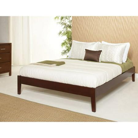 Modus Furniture International Newport King Size Simple Platform Bed Cordovan Box 1 Of 3