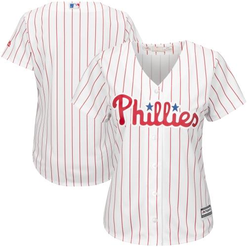 Philadelphia Phillies Majestic Women's Cool Base Jersey - White