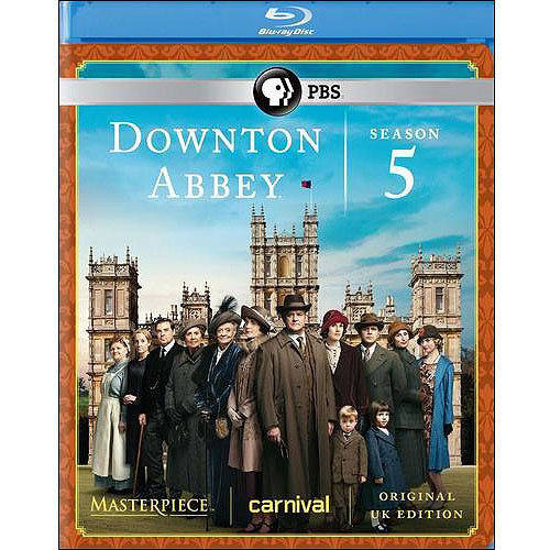 Masterpiece: Downton Abbey - Season 5 (U.K. Edition) (Blu-ray)