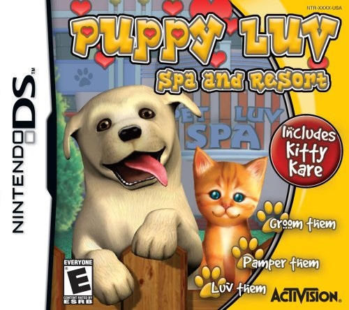 Puppy Luv Spa and Resort - Nintendo DS