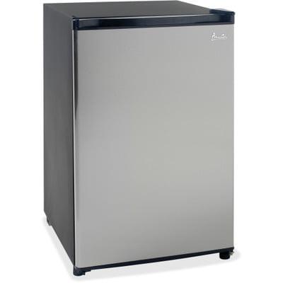 (Avanti Model RM4436SS - 4.4 CF Counterhigh Refrigerator - Black w/Stainless S...)