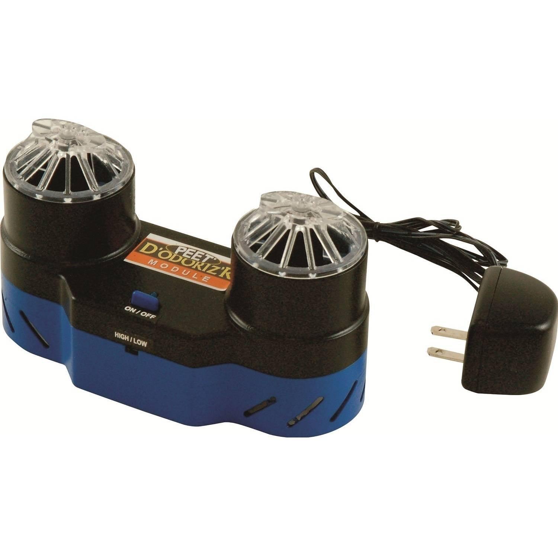peet shoe dryer co3 ozone odor eliminator black blue