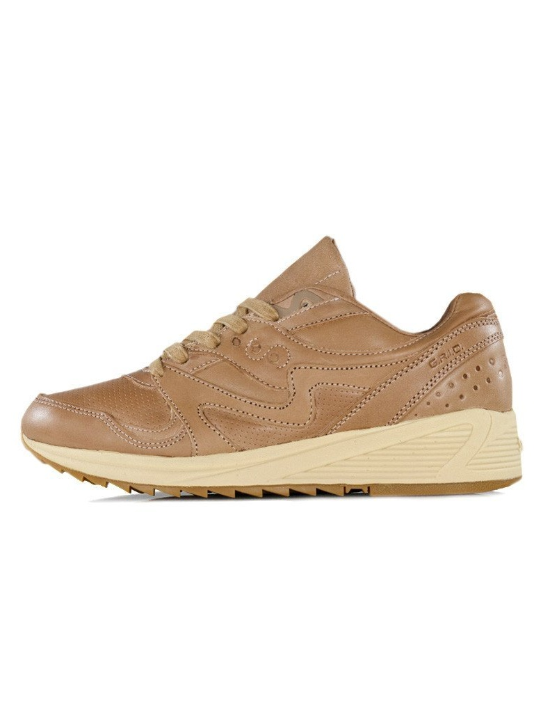 Mens Saucony Grid 8000 Elite Veg Tan S70313-1