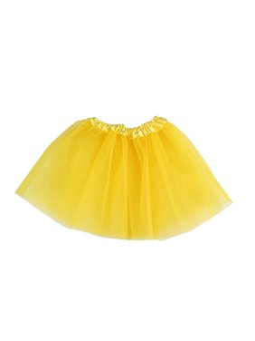 Toddler Girls Chic 3 Layers Tutu Ballet Dance Dress Skirt 2-7Y