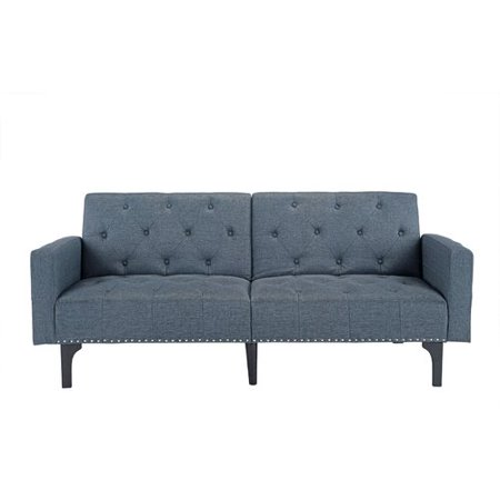 Wrought Studio Rather Modern Tufted Reclining Sleeper Sofa Walmartcom