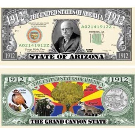 Set of 10 Bills-1912 Arizona State Bill, By Novelties Wholesale - Wholesale Novelty Items