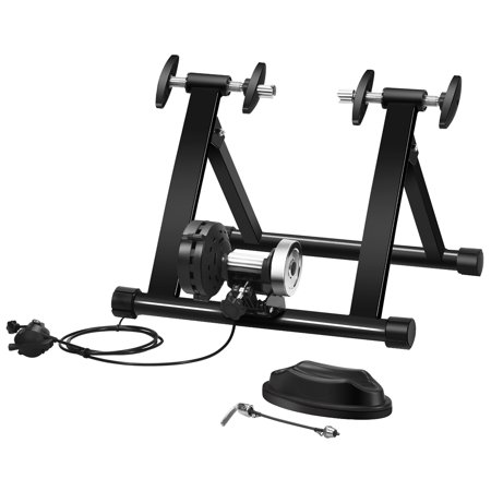 Costway Bike Trainer Bicycle Exercise Stand w/ 8 Levels Resistance