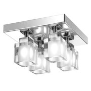 Dainolite New Era 83894FH-PC 4 Flush Mount Light