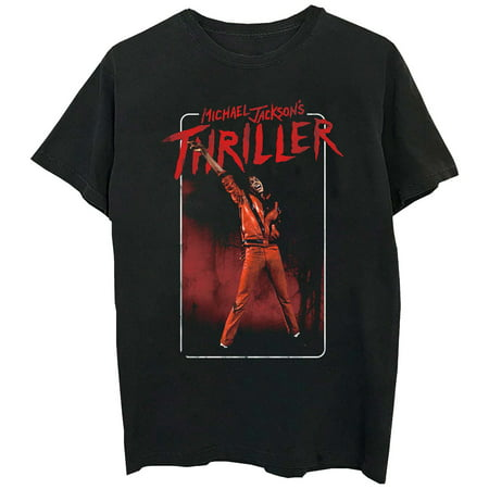 Michael Jackson Clothing Style (Michael Jackson Men's Thriller Arm Up T-Shirt)