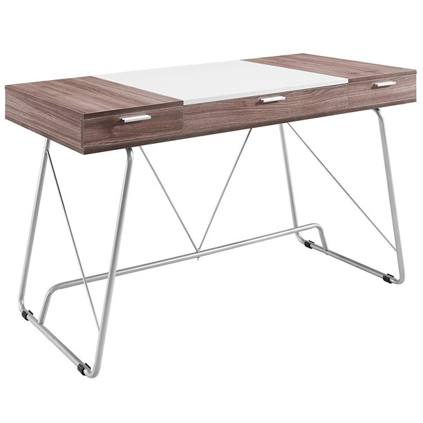 "Cool Office Furniture – ""Liam's Way"" Space Saving Desk - Walmart"