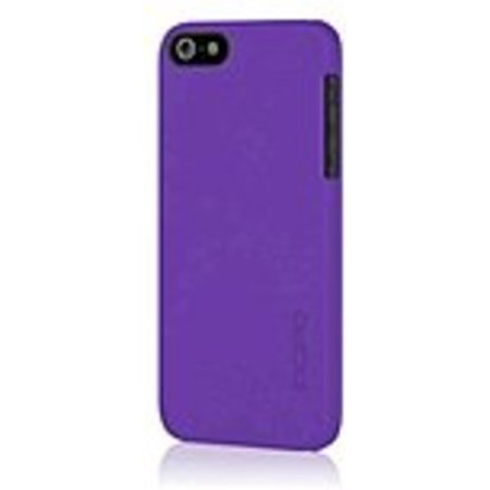 Refurbished Incipio IPH-808 Feather Ultralight Hard Shell Snap-on Case - for iPhone 5/5S - Royal Purple - Translucent - Plextonium