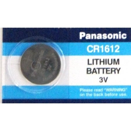 Panasonic CR1612 3 Volts Lithium Lithium Coin Cell Battery ()