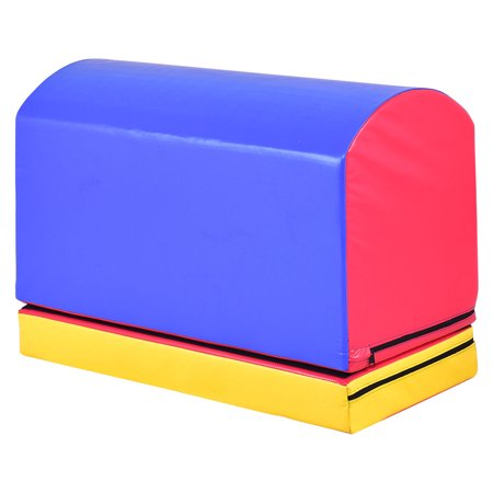 Gymax Mailbox Trainer Tumbling Aid Gymnastics Jumping Box