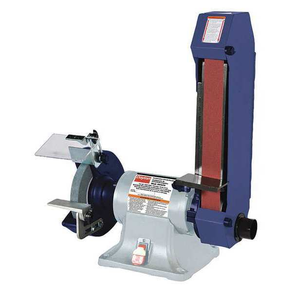 Dayton Bench Grinder Review 28 Images Dayton 49h006 Combination Belt And Bench Grinder 120v