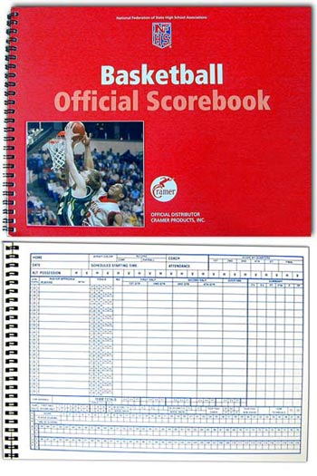 Cramer NFSHSA Offical Scorebook by Cramer Products, Inc