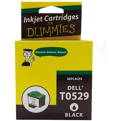 For Dummies Remanufactured Dell T0529 Black Cartridge Series 1