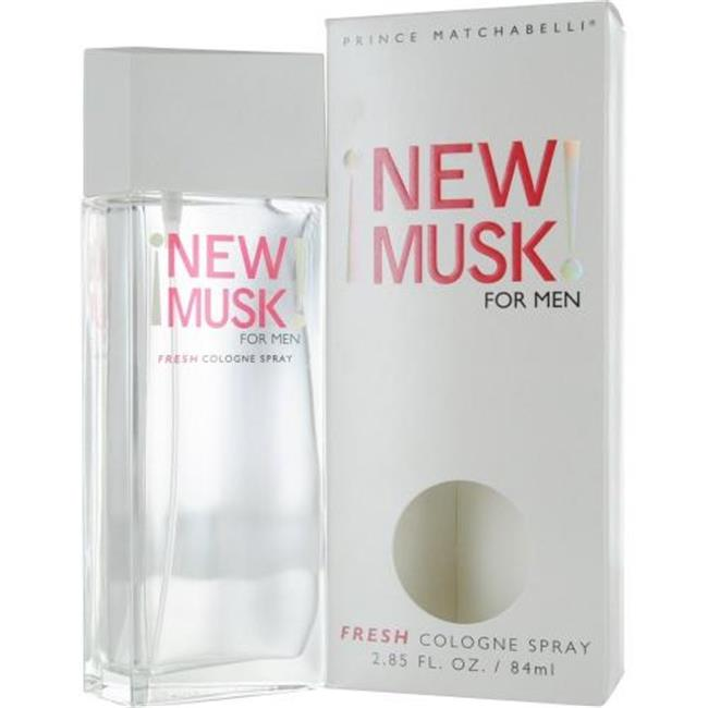 Parfums De Coeur New Musk Cologne Spray For Men, 2.85 Oz.