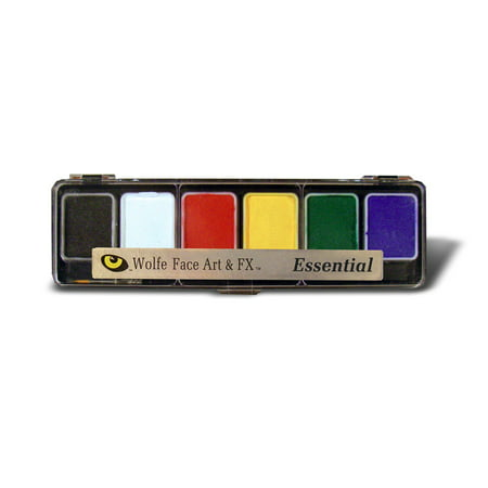Wolfe Essentials Face Paint Palettes (6 Colors)](Cheap Face Paint)