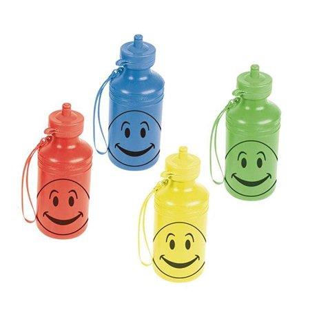 Kicko Smiley Face Water Bottle - 7.5