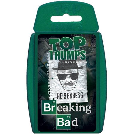 Top Trumps Breaking Bad Card - Break Cards