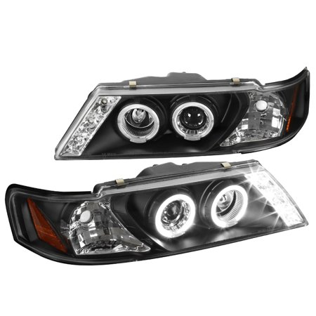 Nissan Sentra Oem Replacement Headlight (Spec-D Tuning 1995 1996 1997 1998 1999 Nissan Sentra Led Projector Headlights 1995-1999 (Left +)