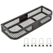 Black Widow ATVFB-3713 Front Rack ATV Steel Mesh Cargo Basket