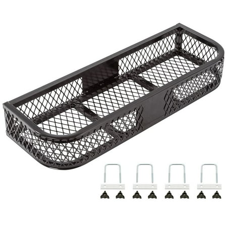 Black Front Mesh ATV Rack Basket